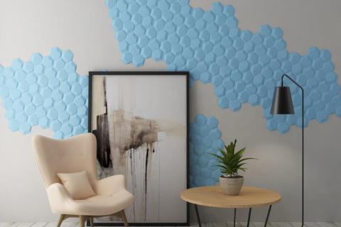smart-art-bespoke-3d-wall-boards-hexagon-blue