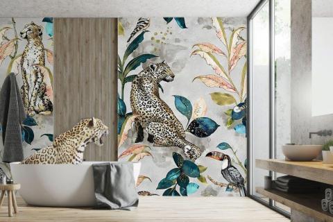 smart-art-bespoke-bathroom-animal-wallpaper