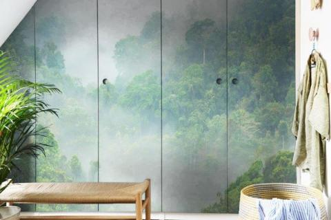 smart-art-bespoke-bathroom-bel-green-tropical-forest-wallpaper