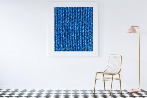 abstract-painting-in-luxurious-interior-with-close-knitted-blue-texture-on-canvas-