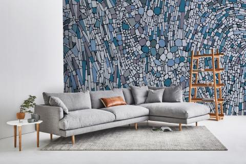 smart-art-blue-light-mosaic-wallpaper-tiles-wall-mural-grey