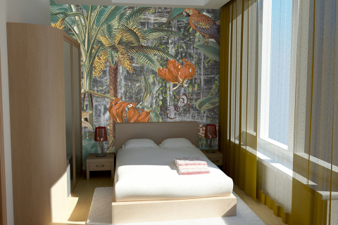 smart-art-wallpaper-wall-vinyl-trees-leaves-art-abstract-style-interior-decor-ideas-4