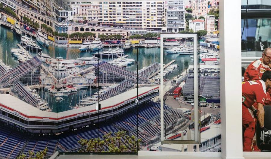 smart-art-wallpaper-installation-racing-themed-garage-2