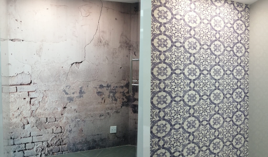 smart-art-wallpaper-installation-continental-bathroom-supplies-showroom-3