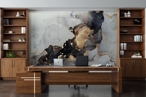 Smart-Art-Office-Black-and-Gold-Wallpaper