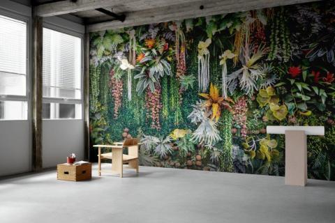 smart-art-bespoke-home-office-floral-botanical-green-wallpaper