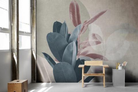 smart-art-bespoke-home-office-nuetral-natural-flower-wallpaper-design