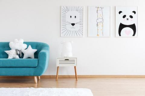 Smart-Art-Wallpaper-textile-and-vinyl-prints-tween-girl-and-her-lovely-poodle-dog-lying-on-floo-6WCYDBY-43