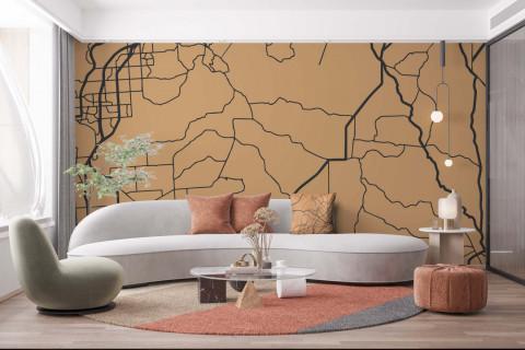 Smart_Art_Seamless_Wallpaper_Geometric_Map_Pattern_Light_Scatter_Cushion