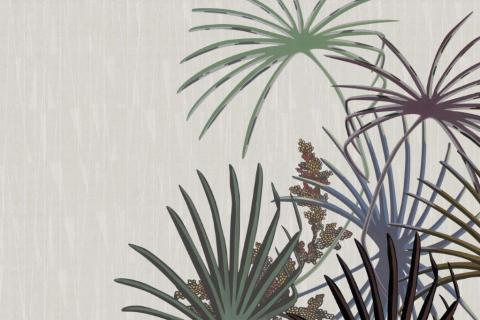 smart-art-wallpaper-design-Trend-2021-grass-neutral-beige-grey-soft-pantone-designs-12