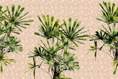 smart-art-wallpaper-design-Trend-2021-grass-neutral-beige-grey-soft-pantone-designs-2