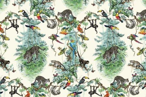 smart-art-kiddies-wallpaper-r-tiger-monkey-bird-flamingo-lion-4