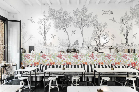 smart-art-black-and-white-coffee-shop-bespoke-interior-design-with-tropical-plants