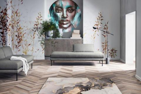 smart-art-bespoke-african-wall-tattoo-with-pampas-grass-plumes-wall-mural-and-marble-printed-designer-carpet