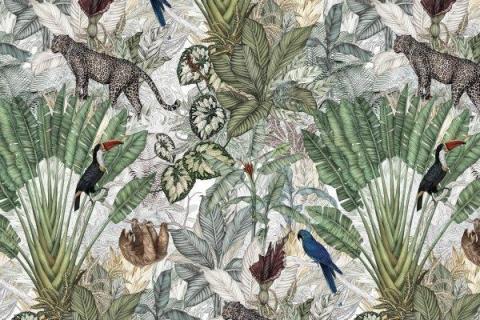 parot-banana-leaves-leopard-flamingo-1