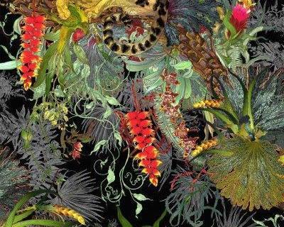 parot-banana-leaves-leopard-flamingo-101
