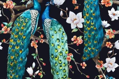 parot-banana-leaves-leopard-flamingo-19