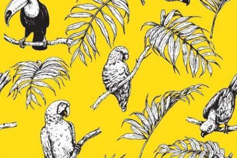 parot-banana-leaves-leopard-flamingo-27