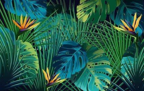 parot-banana-leaves-leopard-flamingo-33