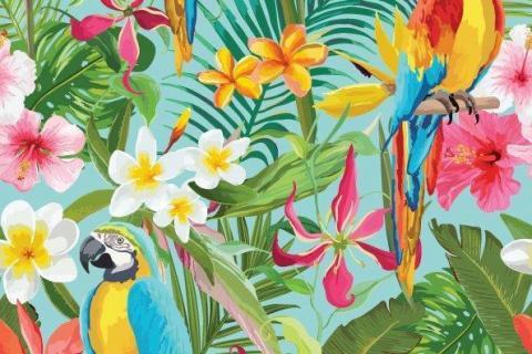 parot-banana-leaves-leopard-flamingo-36