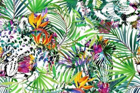 parot-banana-leaves-leopard-flamingo-39