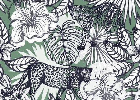 parot-banana-leaves-leopard-flamingo-46