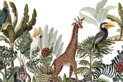 parot-banana-leaves-leopard-flamingo-51