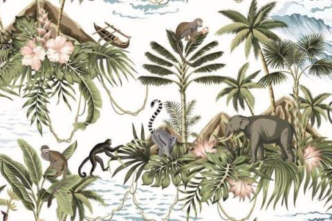 parot-banana-leaves-leopard-flamingo-52