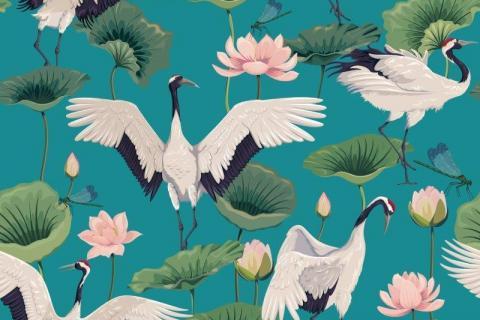 parot-banana-leaves-leopard-flamingo-53