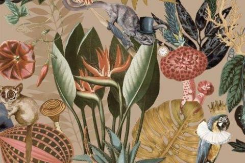 parot-banana-leaves-leopard-flamingo-56