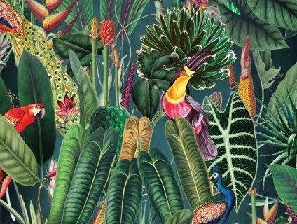 parot-banana-leaves-leopard-flamingo-57