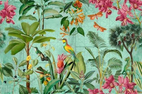 parot-banana-leaves-leopard-flamingo-68