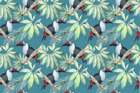 parot-banana-leaves-leopard-flamingo-69