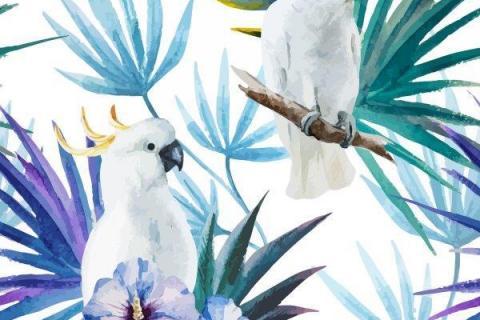 parot-banana-leaves-leopard-flamingo-79