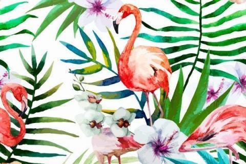 parot-banana-leaves-leopard-flamingo-80