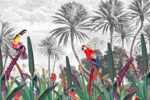 smart-art-bespoke-printed-wallpaper-jungle-birds-with-palm-trees