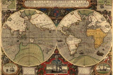 1_smart-art-designs-world-map-vintage-maps-book-shelves-wallpaper-3-wall-art-31