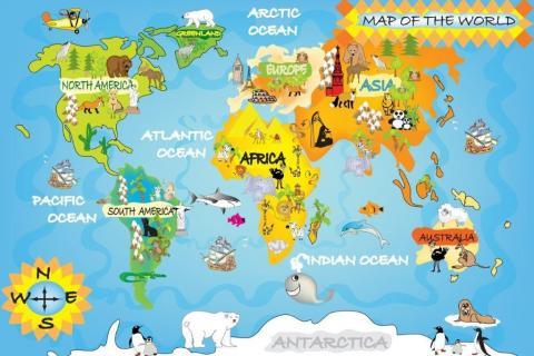 1_smart-art-designs-world-map-vintage-maps-book-shelves-wallpaper-3-wall-art-39