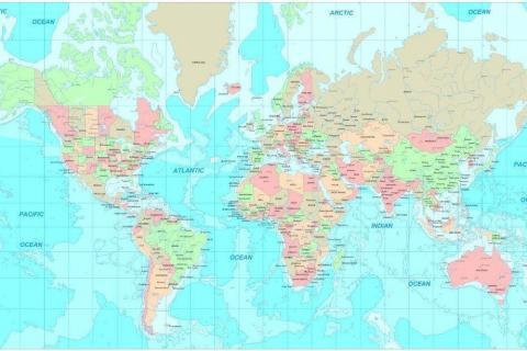 smart-art-designs-world-map-vintage-maps-book-shelves-wallpaper-3-wall-art-4