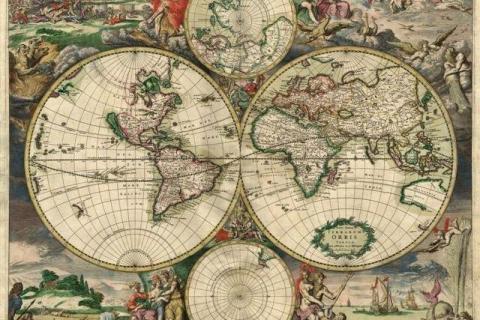 smart-art-designs-world-map-vintage-maps-book-shelves-wallpaper-3-wall-art-42