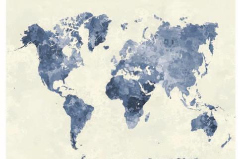smart-art-designs-world-map-vintage-maps-book-shelves-wallpaper-3-wall-art-44