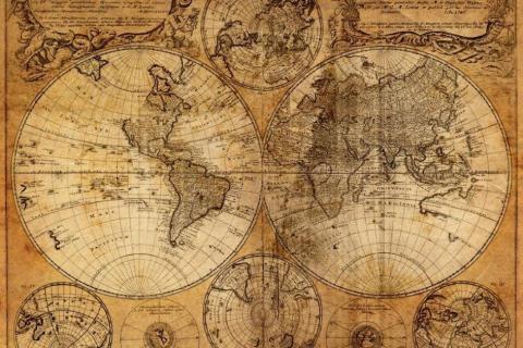smart-art-designs-world-map-vintage-maps-book-shelves-wallpaper-3-wall-art-56
