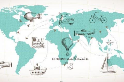 smart-art-designs-world-map-vintage-maps-book-shelves-wallpaper-3-wall-art-58