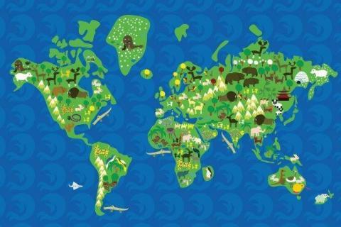 smart-art-designs-world-map-vintage-maps-book-shelves-wallpaper-3-wall-art-7