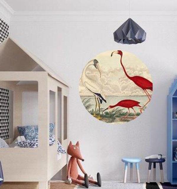 & Best Peel and Stick Tiles of 2021 round flamingo