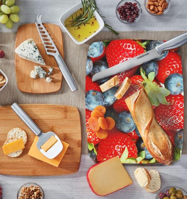 Smart Art Bespoke Printed Cutting Board Berries