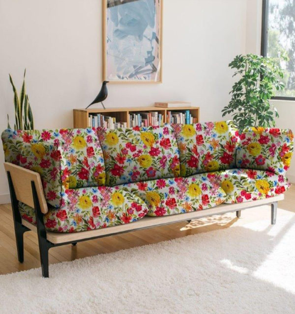 Smart Art Bespoke Printed Textile Cutom Printed Upholstery Fabric for Scatters, Linen & Poly Mix Use Your Own Image Or Choose From Our Online Gallery
