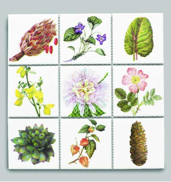 Printed Custom Designed High Gloss Tiles