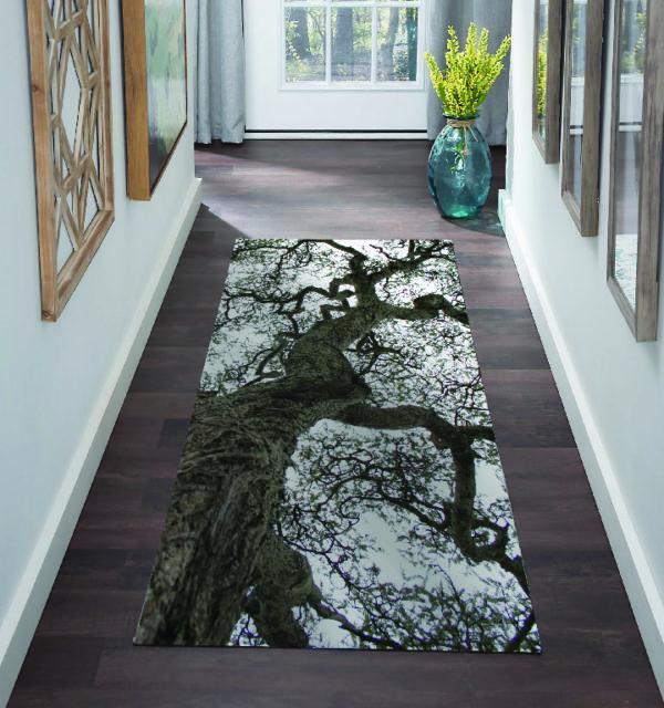 Smart Art Bespoke Printed Carpet Runner Tree Branches