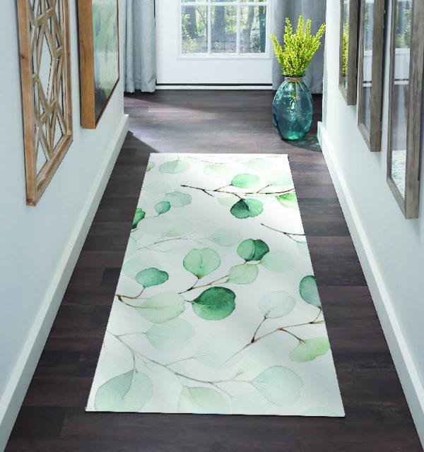 Smart Art Bespoke Printed Carpet Runner Tree Leaves